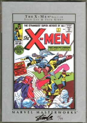Marvel Masterworks X-Men Volume 1 Hardcover Dynamic Forces Signed Stan Lee DF COA Ltd 99 Marvel Comics